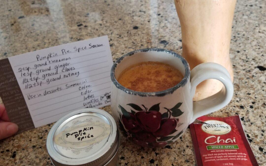 Pumpkin/Butternut Spiced Chai Tea